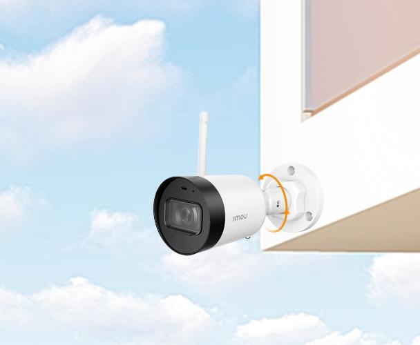 Камера обеспечит наблюдение за вашим домом или бизнесом при любой погоде.