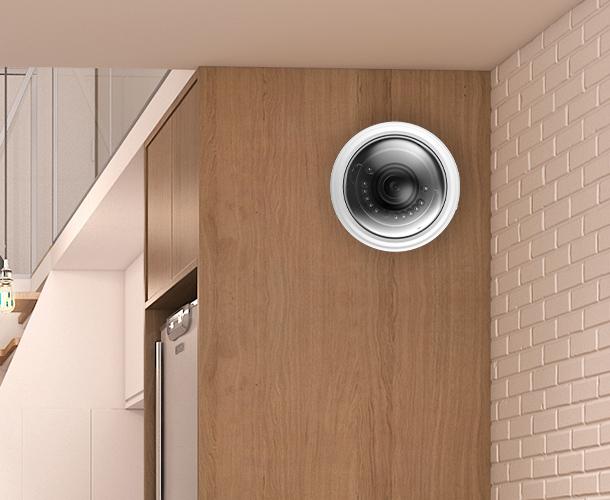 Вы можете установить камеру на стену.